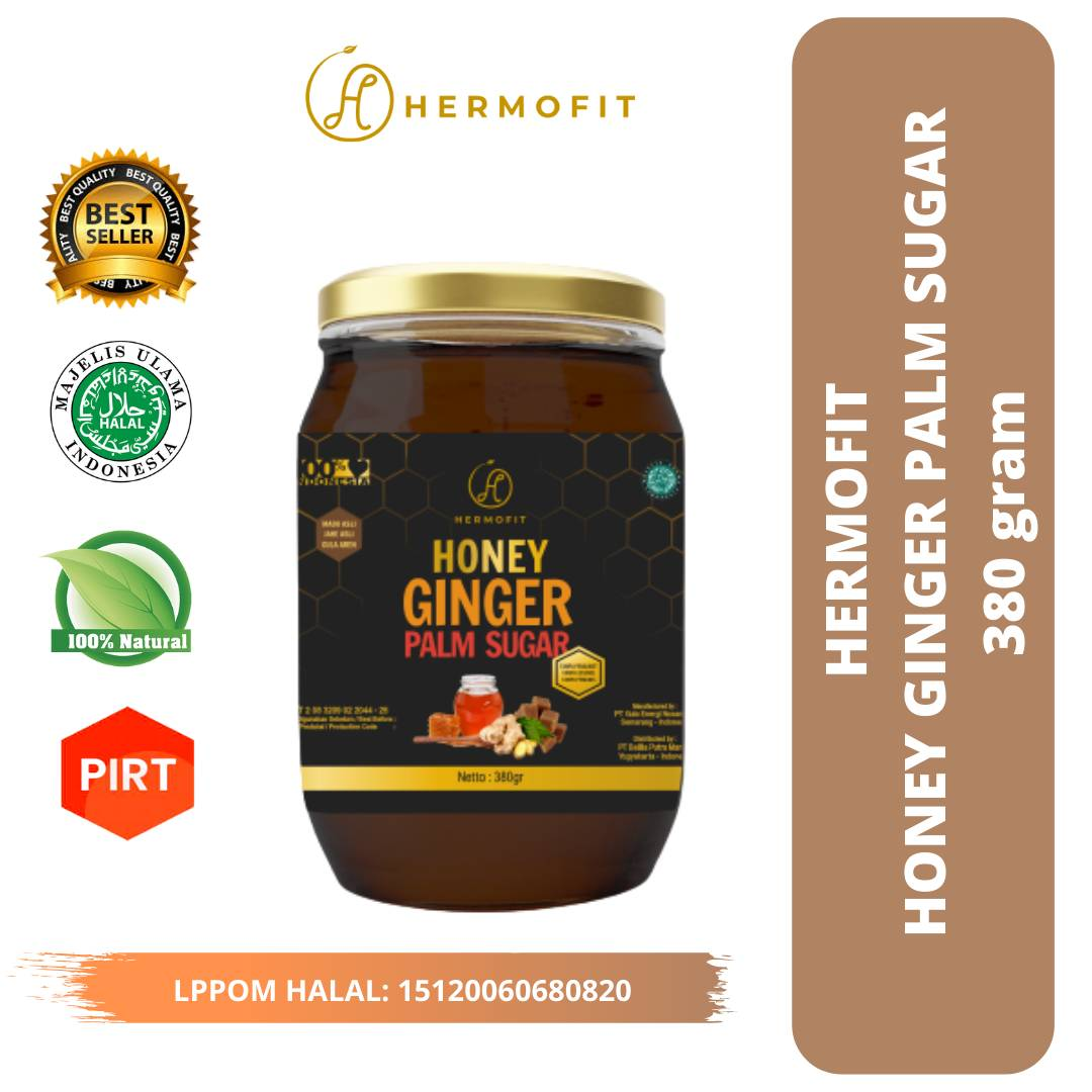 Hermofit Honey Ginger Palm Sugar 380 gram3