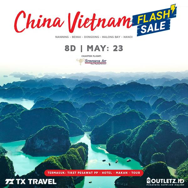 Flash Sale 8D China Vietnam 23 Mei 2019