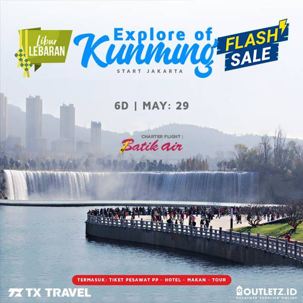 Flash Sale 6D Kunming 29 Mei 2019