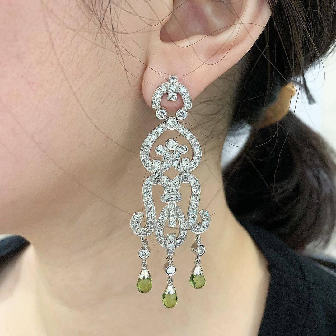Moissani Ethnic Earring