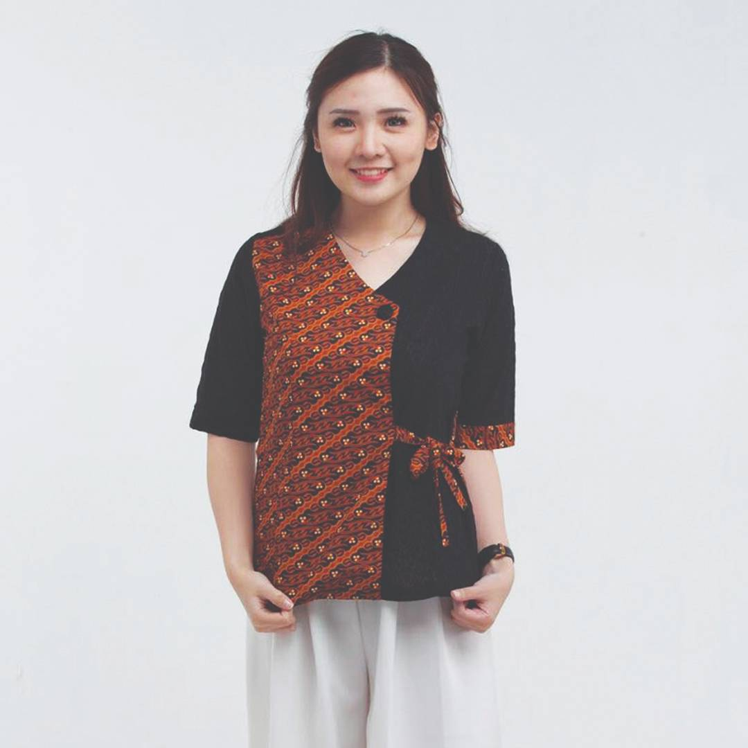 Batik Wanita-Sofie Top