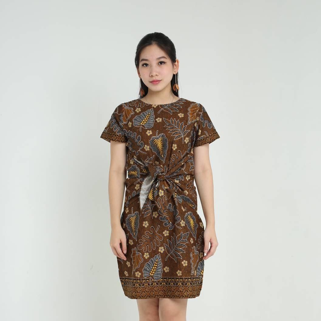 Dress Wanita Batik - Priska Dress