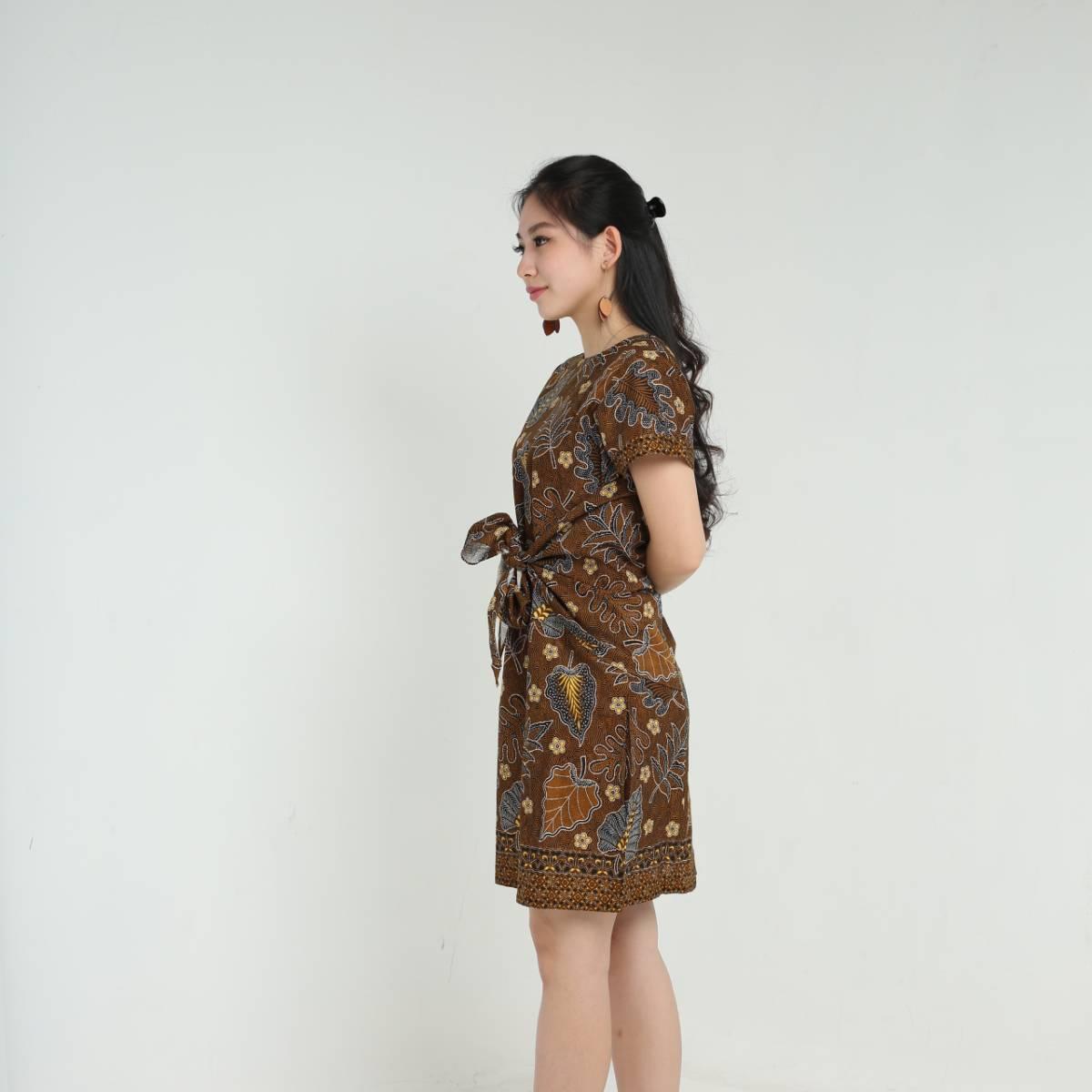 Dress Wanita Batik - Priska Dress1