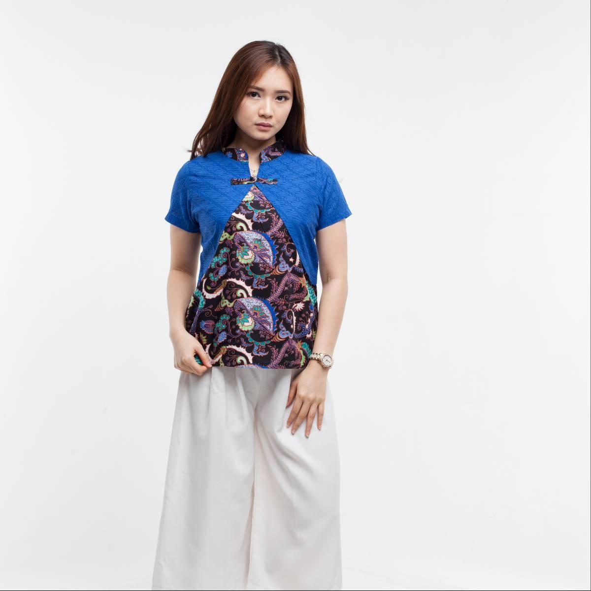 Batik Wanita-Lily Top