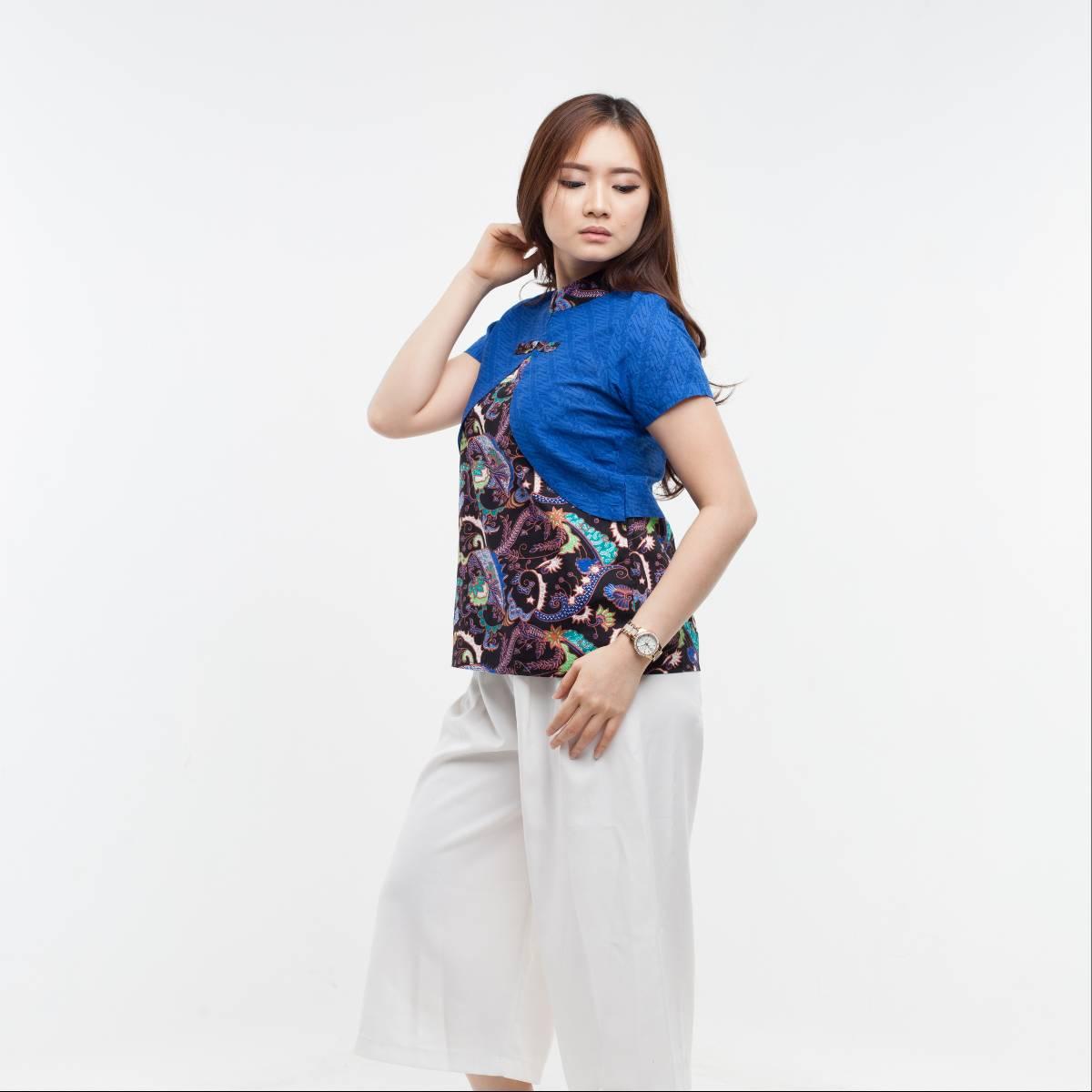 Batik Wanita-Lily Top2
