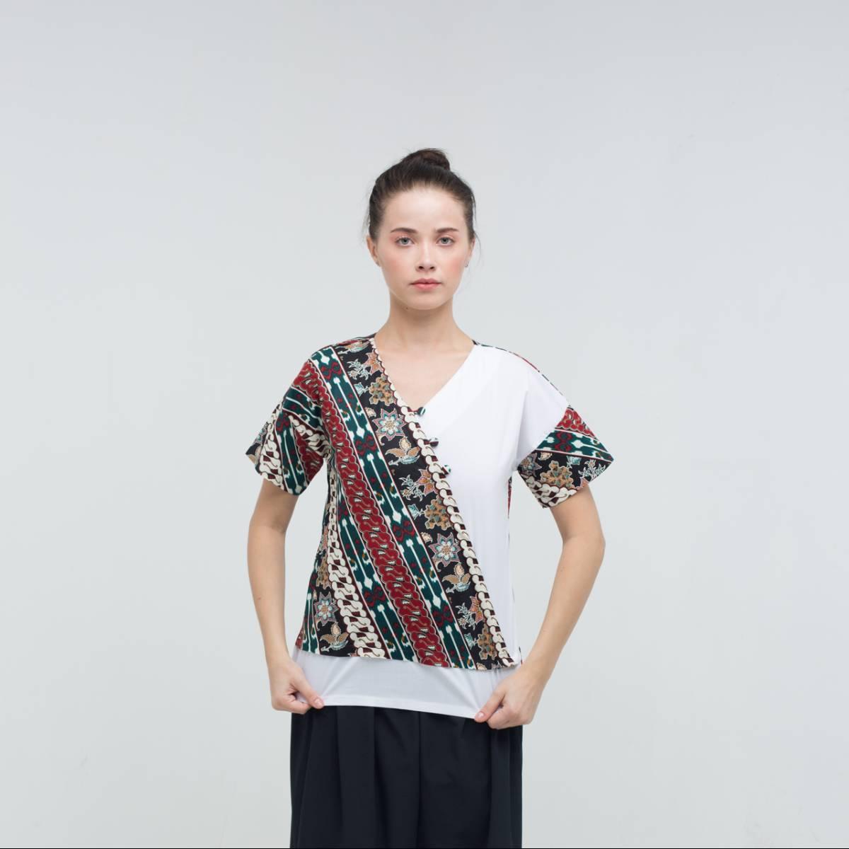 Batik Wanita-Mirta Top