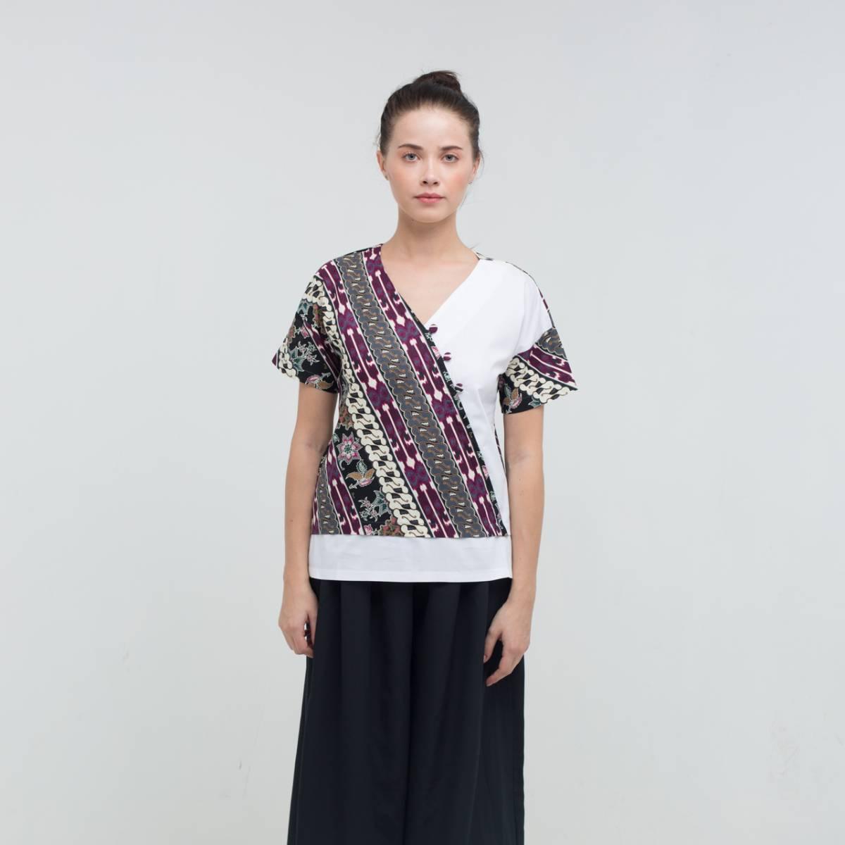 Batik Wanita-Mirta Top1