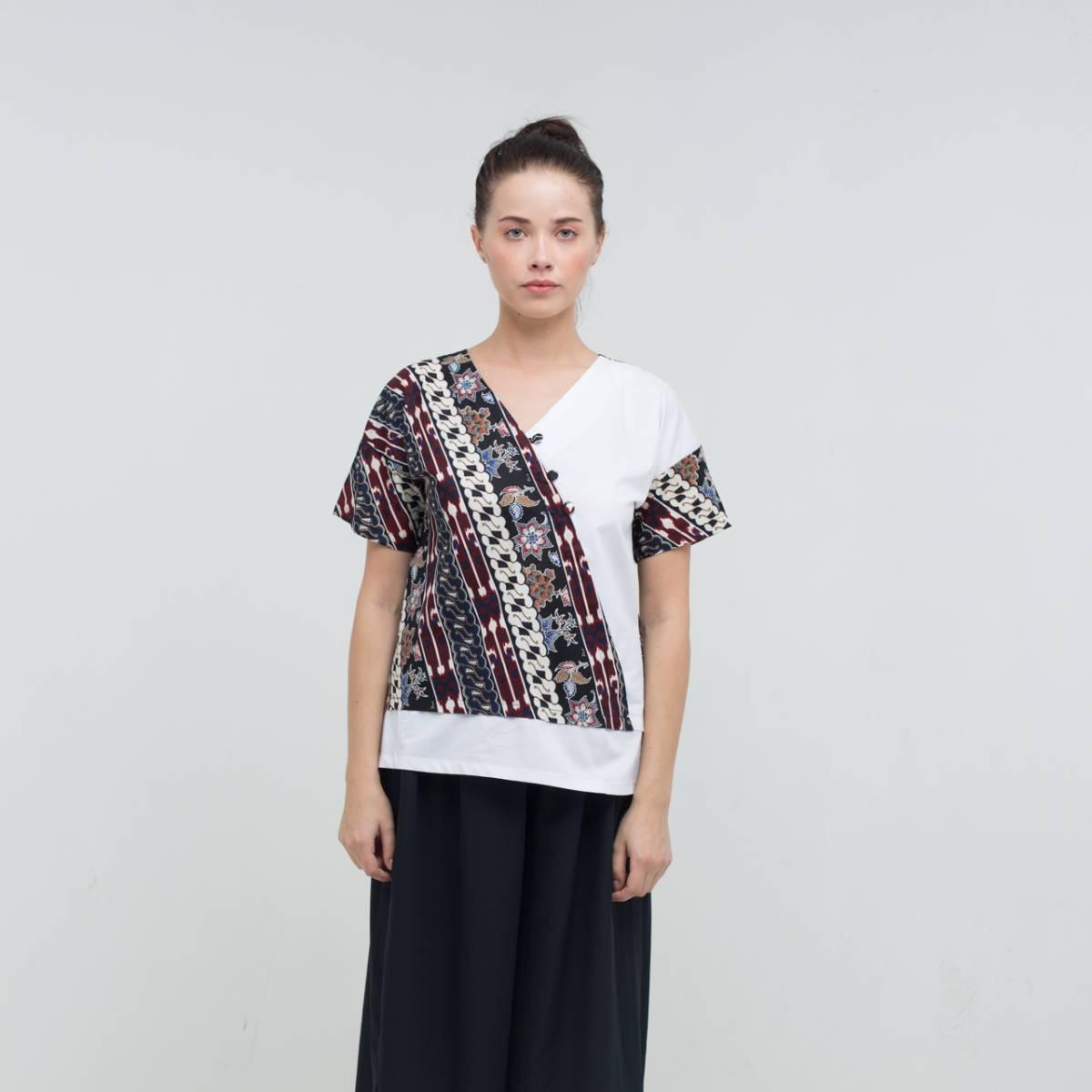 Batik Wanita-Mirta Top2