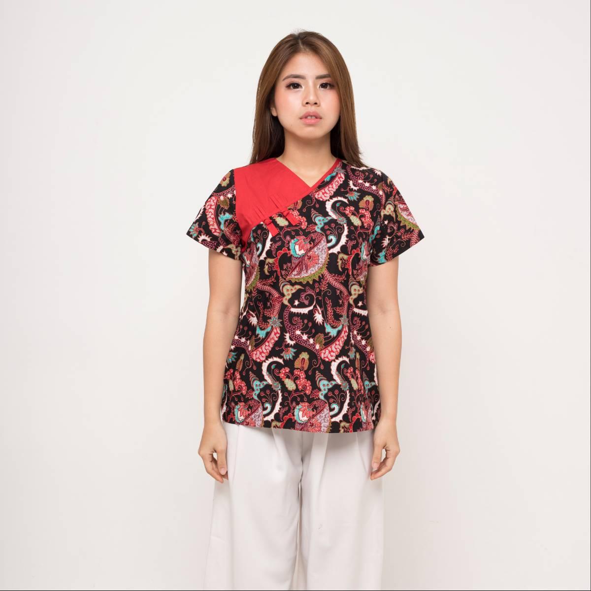 Batik Wanita-Cynthia Top