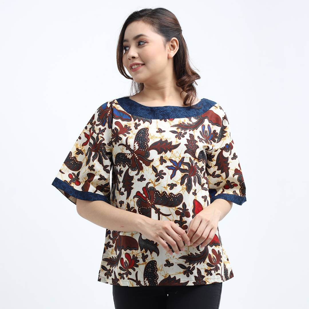 Batik Wanita-Emma Top