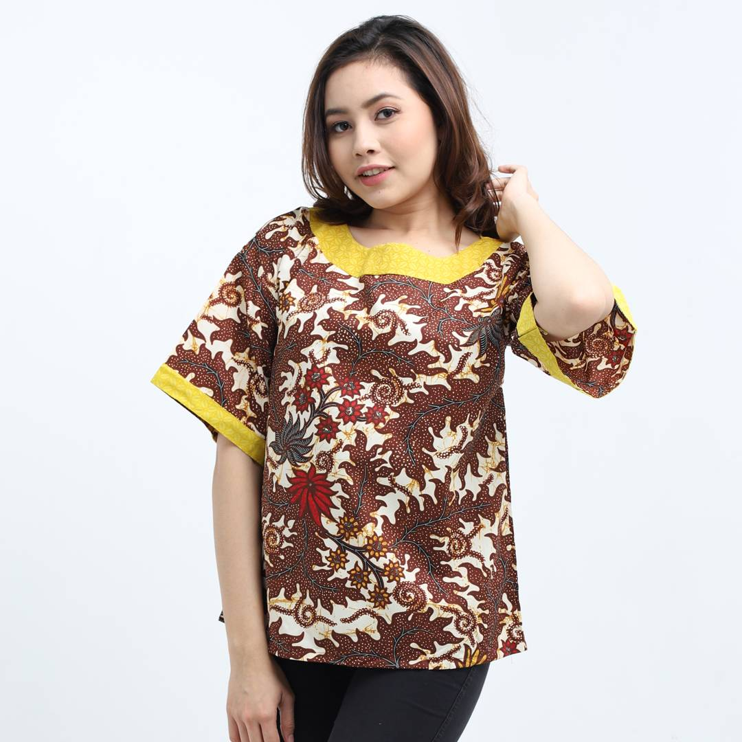 Batik Wanita-Emma Top1
