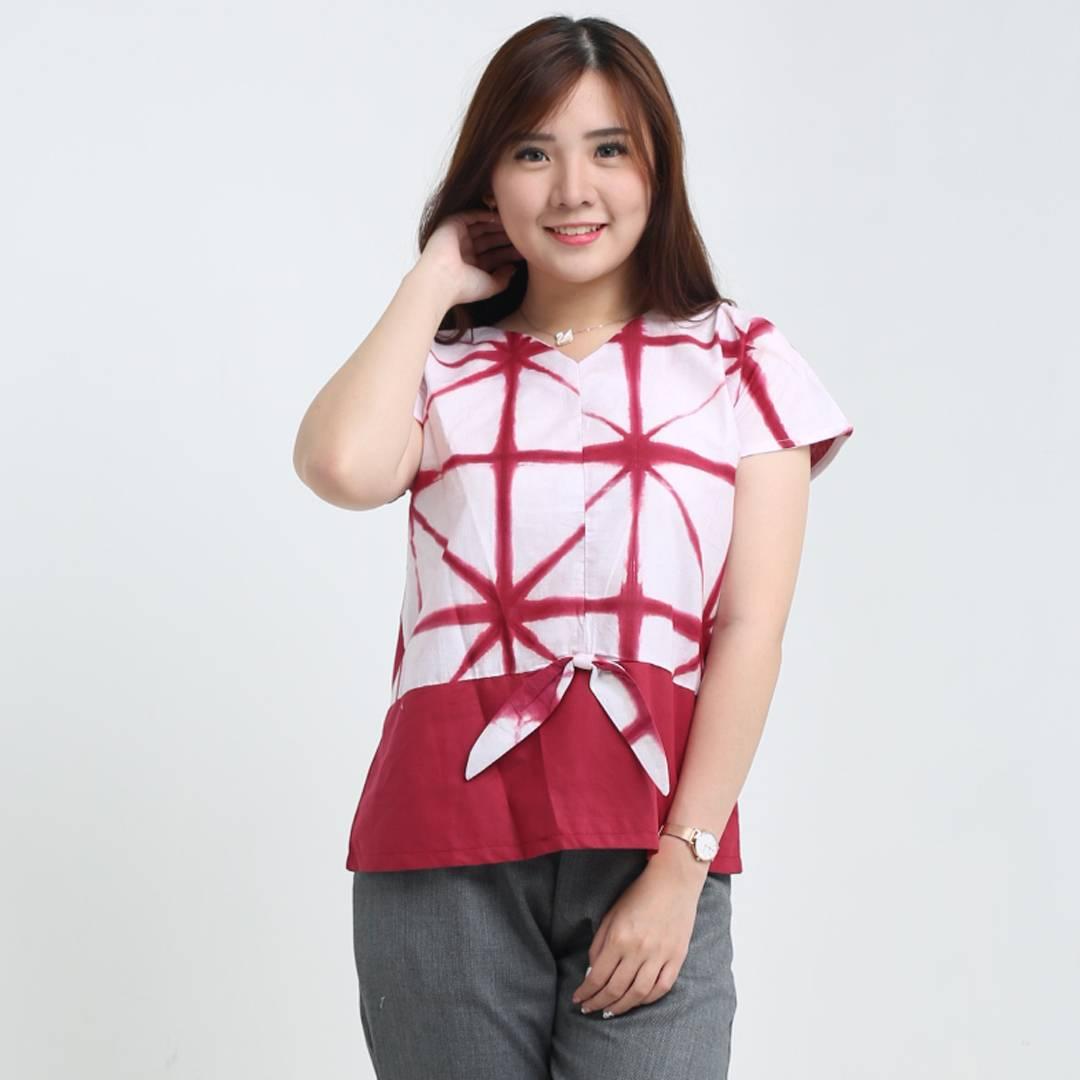 Atasan Batik Wanita-Risha Top