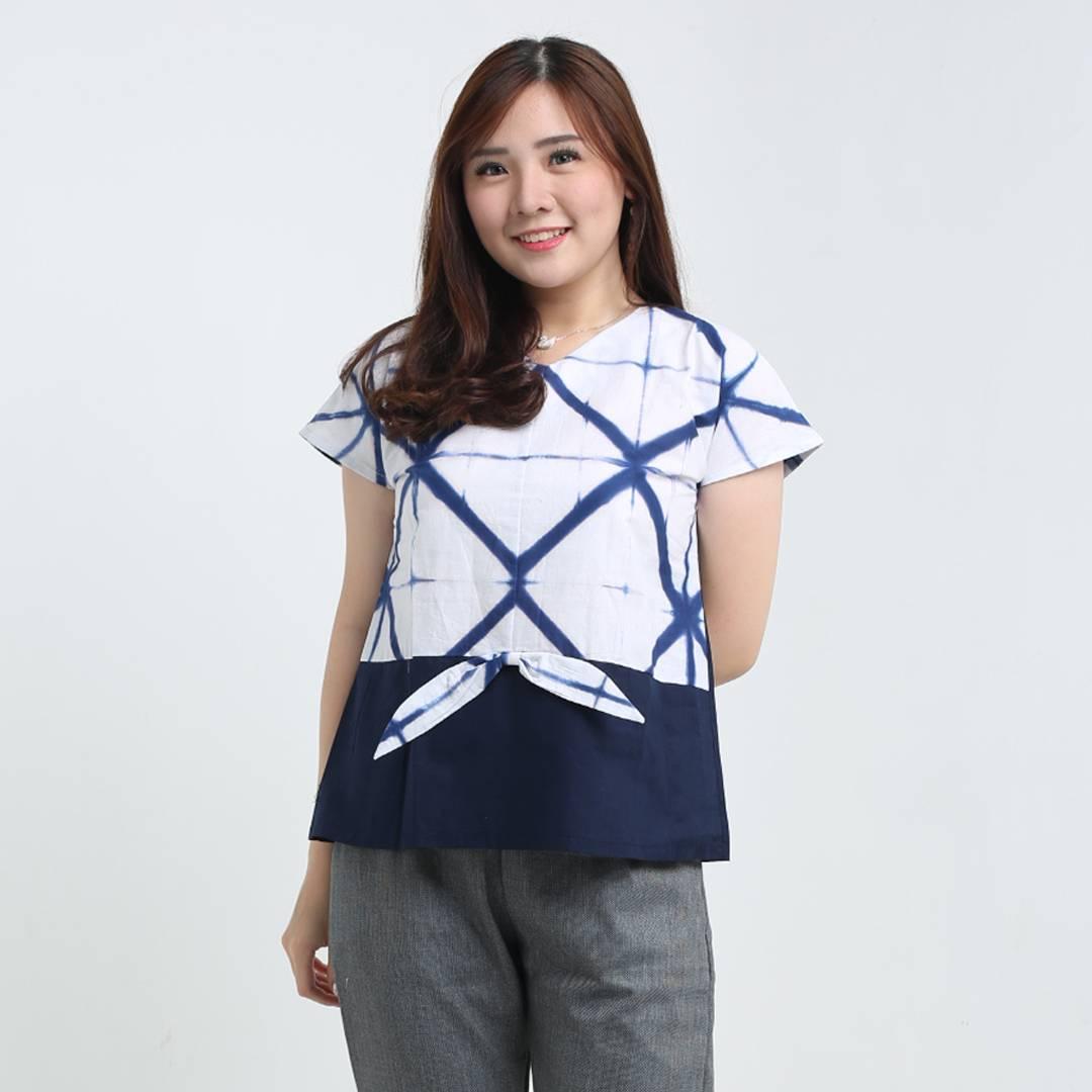 Atasan Batik Wanita-Risha Top1