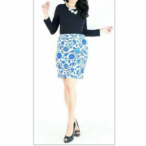 Rok Batik Wanita-Dolby Span Skirt