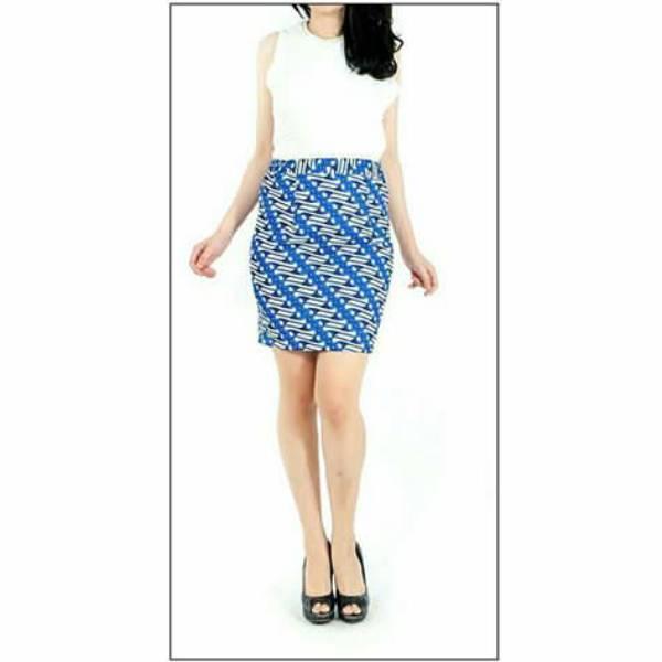 Rok Batik Wanita-Dolby Span Skirt1