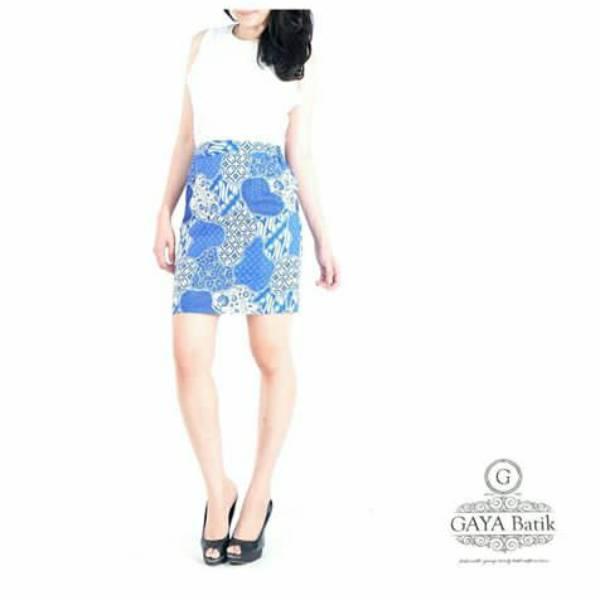 Rok Batik Wanita-Dolby Span Skirt3