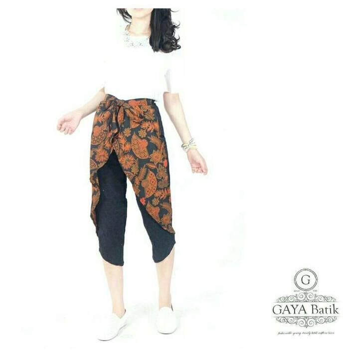 Celana Batik Wanita-Alicia Pants (Celana Pita)1