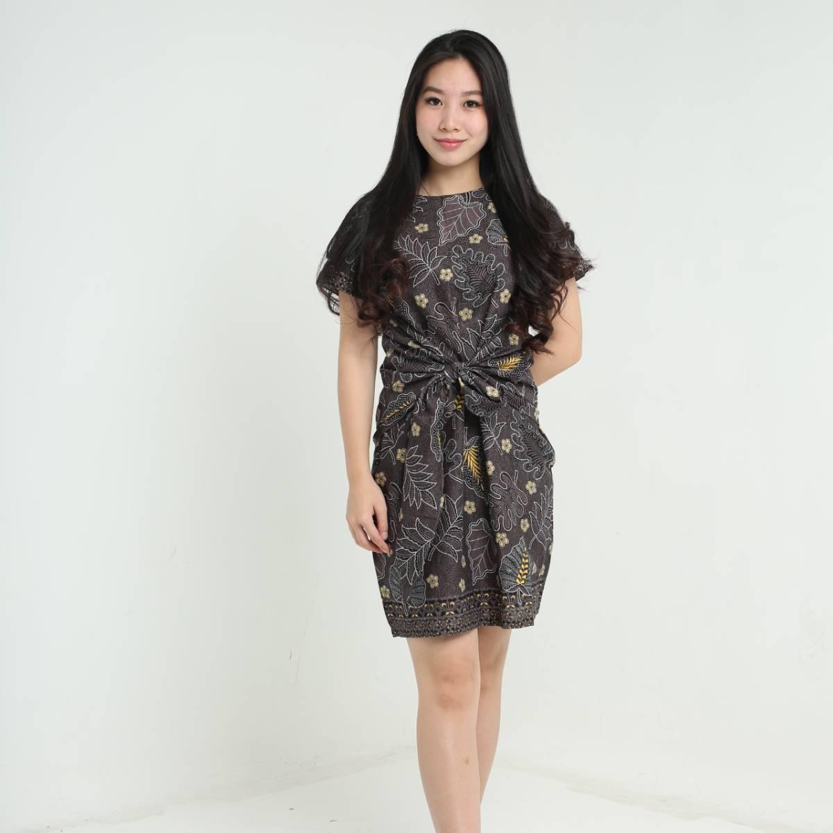 Dress Wanita Batik - Priska Dress2
