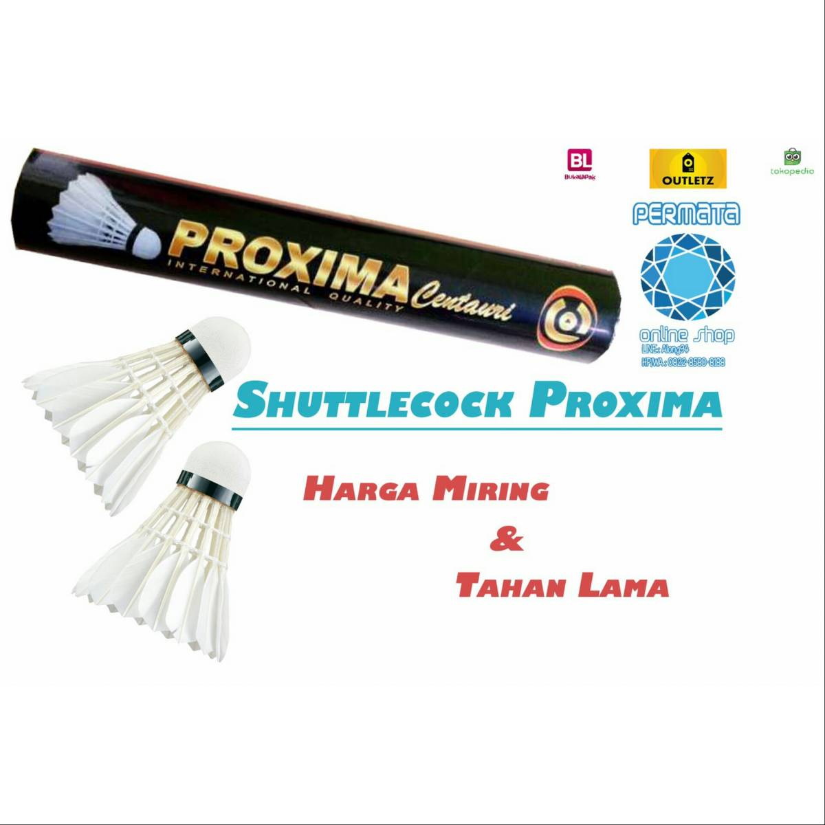 Shuttlecock Proxima