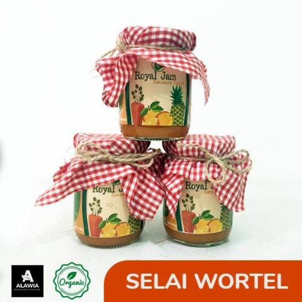 Selai Wortel Organik Agatho,260 gr