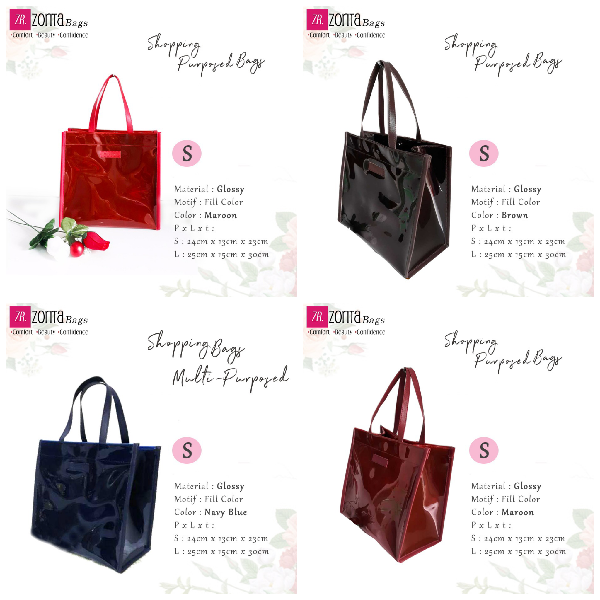 Maharani Outlet Multipurpose Bag Glossy size S By Zorita Bags