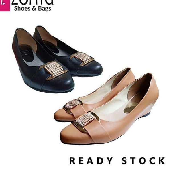 Maharani Outlet Wedges Pentople Middle Blink ZR 2304 By Zorita Shoes