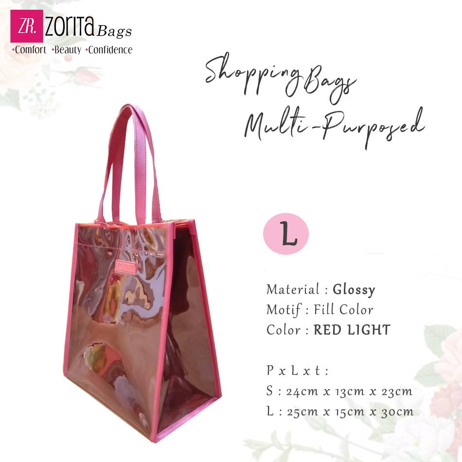 Maharani Outlet Totebag Multipurpose  Zorita Glossy size L By Zorita Bags