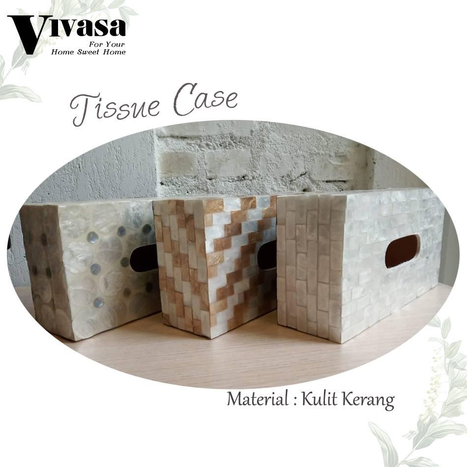 Maharani Outlet Tempat Tisu/Tissue Case motif balok By Vivasa Creative0