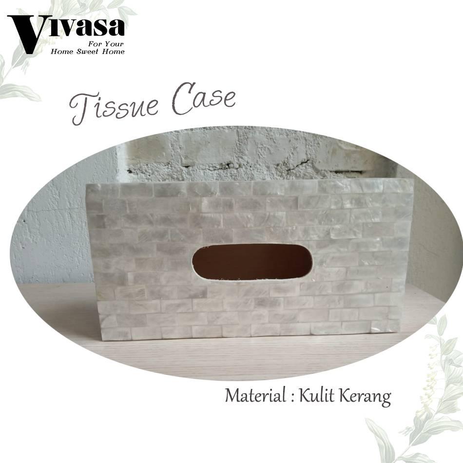Maharani Outlet Tempat Tisu/Tissue Case motif balok By Vivasa Creative1