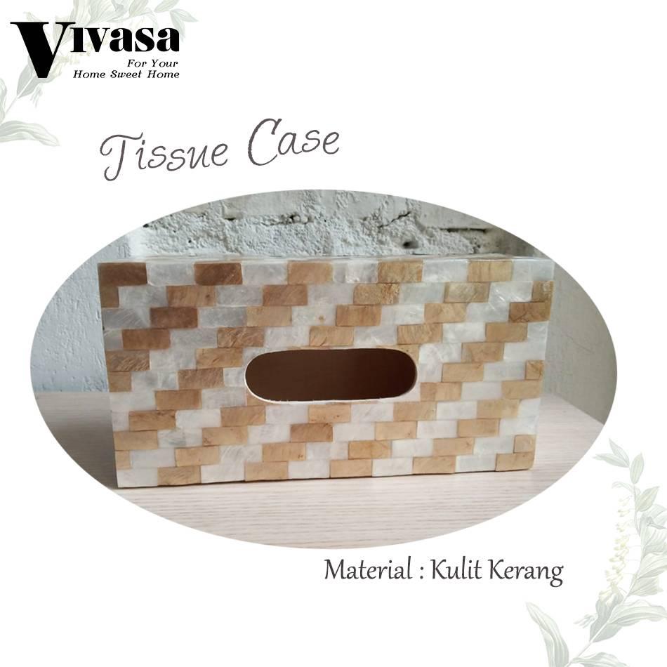 Maharani Outlet Tempat Tisu/Tissue Case motif balok By Vivasa Creative2