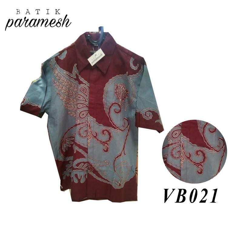 Maharani Outlet Kemeja Batik Pria / Laki-laki VB021 By Batik Paramesh