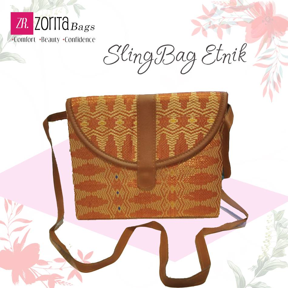 Maharani Outlet Sling Bag Etnik 001 By Zorita Bags