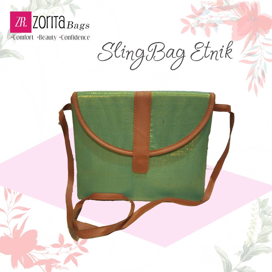 Maharani Outlet Sling Bag Etnik 002 By Zorita Bags