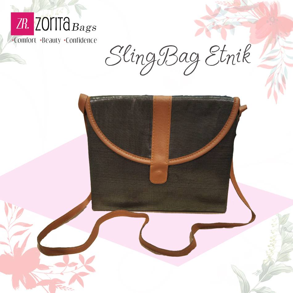 Maharani Outlet Sling Bag Etnik 004 By Zorita Bags