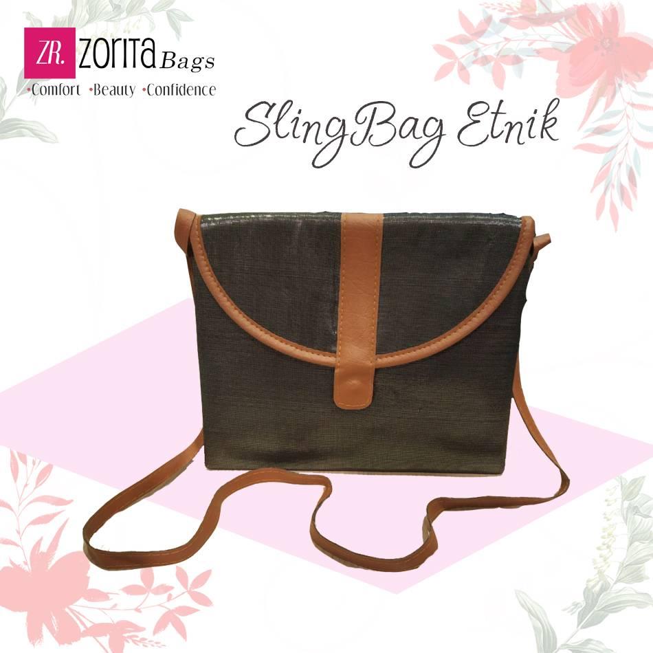 Maharani Outlet Sling Bag Etnik 004 By Zorita Bags