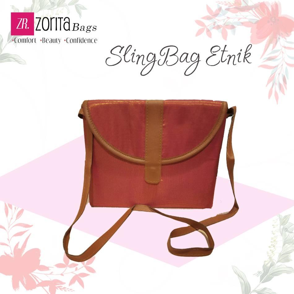 Maharani Outlet Sling Bag Etnik 003 By Zorita Bags