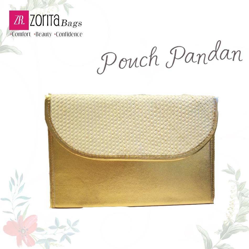Maharani Outlet Pouch Pandan Combine Etnik 001 By Zorita Bags