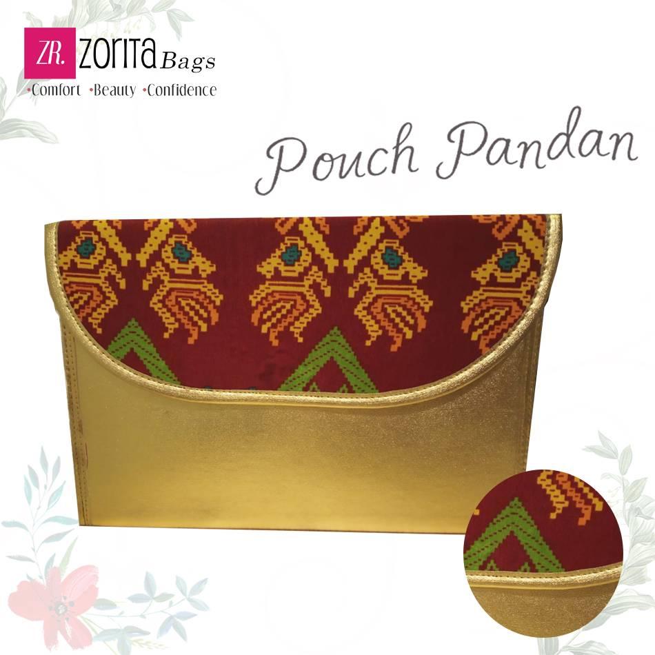 Maharani Outlet Pouch Pandan Combine Etnik 002 By Vivasa Creative