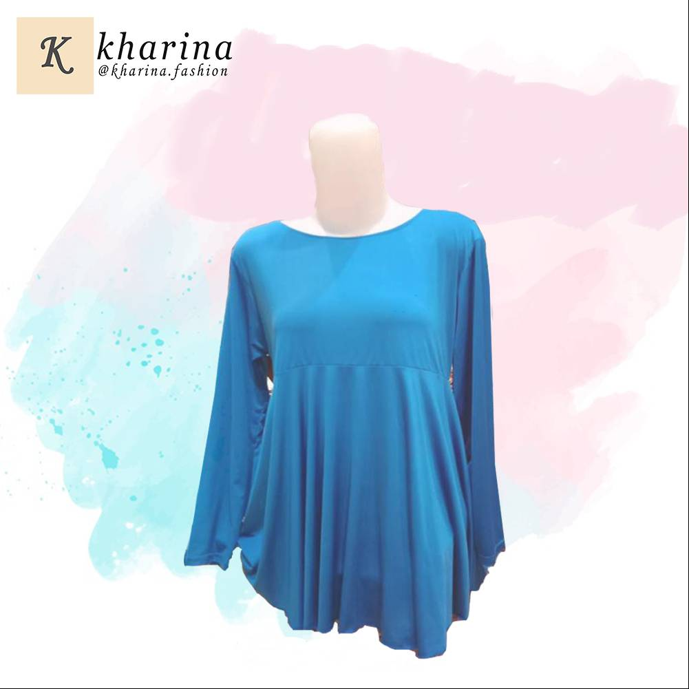 Maharani Outlet River Island Long Sleeve blouse By Kharina Boutique