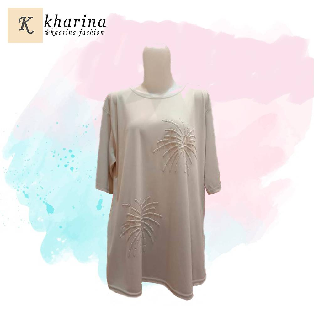 Maharani Outlet Bombayah Long Sleeve T-Shirt by Kharina Boutique