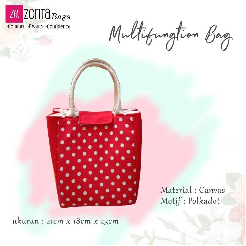 Maharani Outlet Multifungtion Bag Polkadot By Zorita Bags