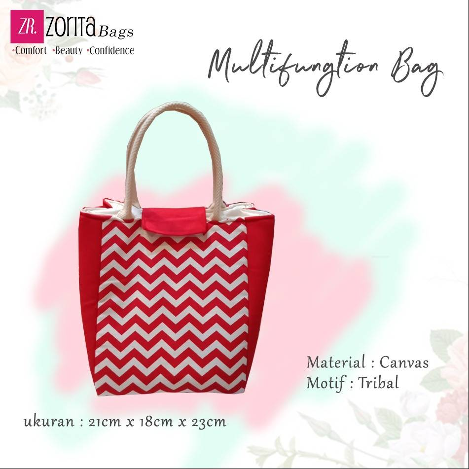 Maharani Outlet Multifungtion Bag Tribal By Zorita Bags