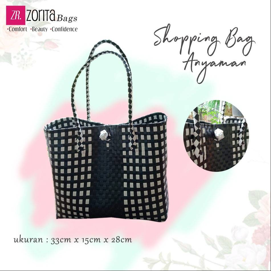 Maharani Outlet Shopping Bag Anyaman A002 Zorita Bags