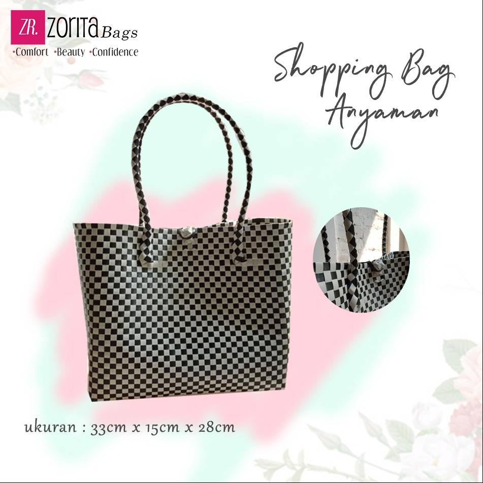 Maharani Outlet Shopping Bag Anyaman A003 By Zorita Bags