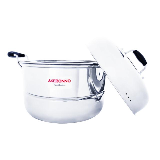 Panci Rebusan Kukusan Serbaguna Steamer Pot Double 30cm | AKEBONNO1