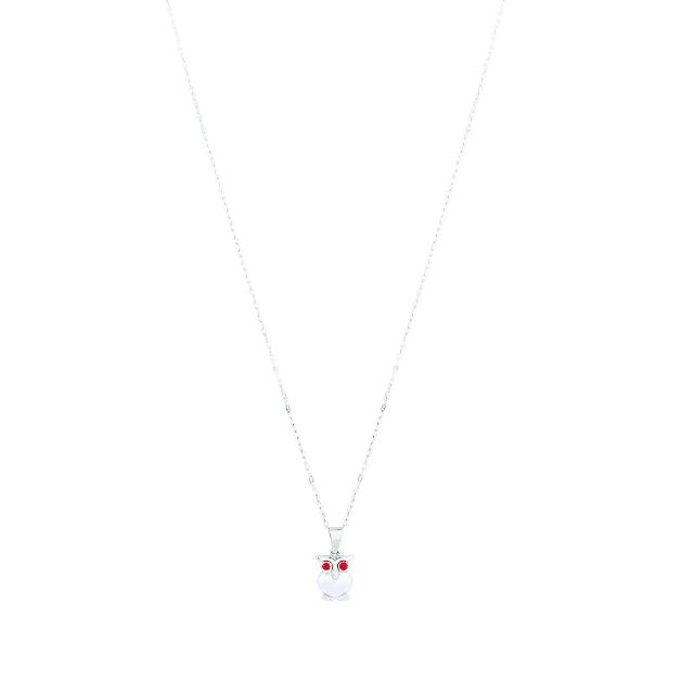Kalung Perak / Kalung Wanita / Burung Hantu | MOA