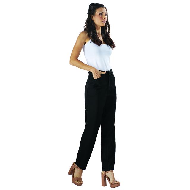 Celana Kantor Wanita Hitam | LA MONTEE
