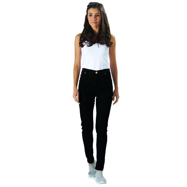 Celana Jeans Wanita / Hitam | LA MONTEE