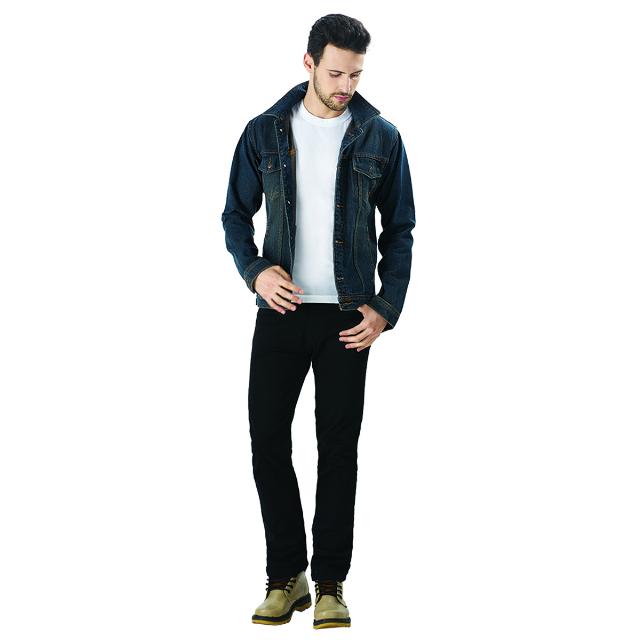 Jaket Jeans Pria - Biru | LA MONTEE