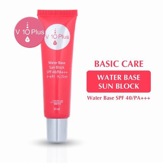 V10 Plus Water Base Sun Blok | V10 PLUS